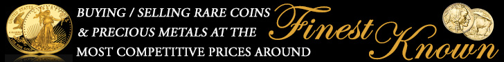 Finest Known: Buying / selling rare coins, precious metals at the most competitive prices around