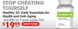 Stop Cheating Yourself -- Healthy34: Daily Essentials for Health and Anti-Aging